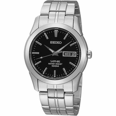عکس نمای روبرو ساعت مچی برند سیکو مدل SGG715P1