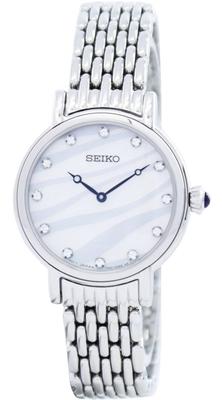 عکس نمای روبرو ساعت مچی برند سیکو مدل SFQ807P1