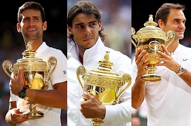 ساعت تنیس بازان مشهور