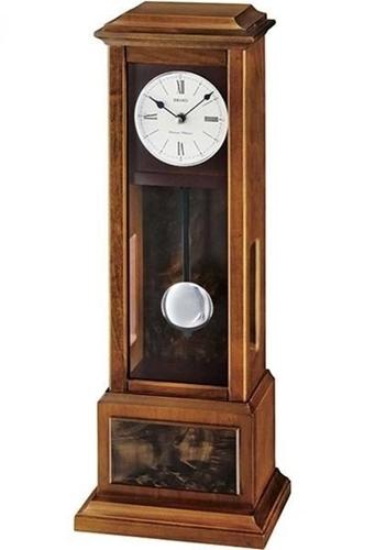 عکس نمای روبرو ساعت رومیزی برند سیکو مدل QXQ026BL