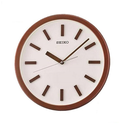 عکس نمای روبرو ساعت دیواری برند سیکو مدل QXA681BL
