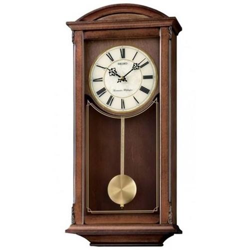 عکس نمای روبرو ساعت دیواری برند سیکو مدل QXH030BN