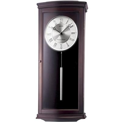 عکس نمای روبرو ساعت دیواری برند سیکو مدل QXH025BN
