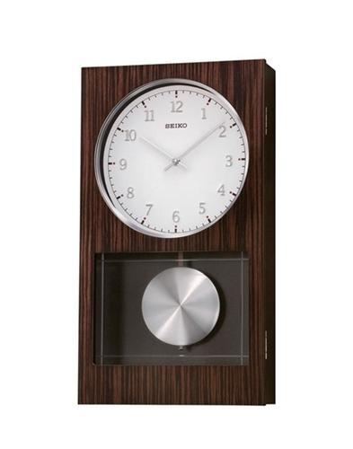 عکس نمای روبرو ساعت دیواری برند سیکو مدل QXH046BN