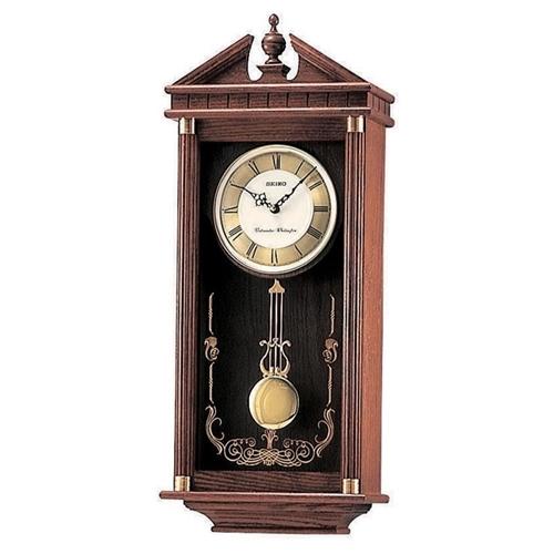 عکس نمای روبرو ساعت دیواری برند سیکو مدل QXH107B