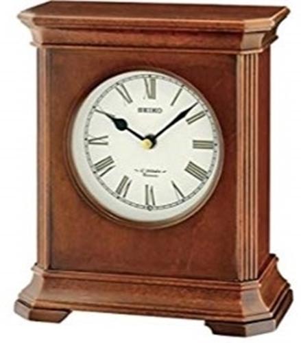 عکس نمای روبرو ساعت رومیزی برند سیکو مدل QXW238BL-Z
