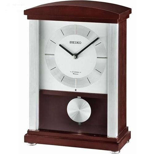 عکس نمای روبرو ساعت رومیزی برند سیکو مدل QXW246BL