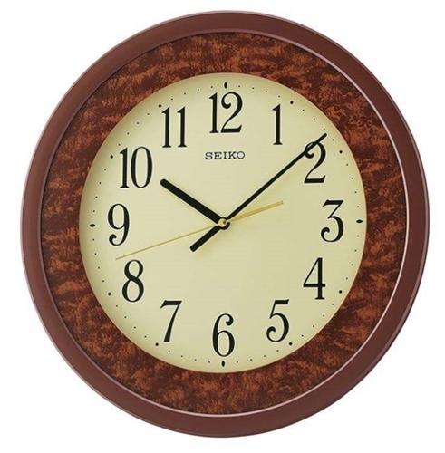 عکس نمای روبرو ساعت دیواری برند سیکو مدل QXA684BL