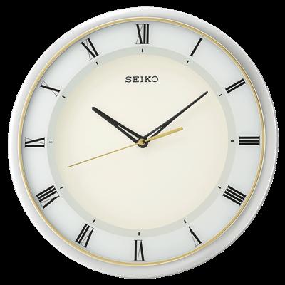 عکس نمای روبرو ساعت دیواری برند سیکو مدل QXA683SL