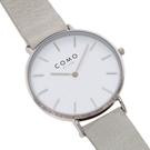 عکس نمای صفحه ساعت مچی برند کومو میلانو مدل CM013.104.2GRY