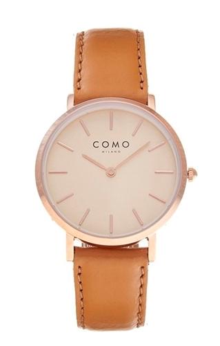 عکس نمای روبرو ساعت مچی برند کومو میلانو مدل CM012.311.2LBR1