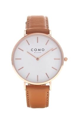 عکس نمای روبرو ساعت مچی برند کومو میلانو مدل CM013.304.2LBR1