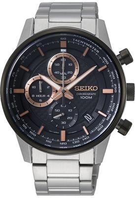 عکس نمای روبرو ساعت مچی برند سیکو مدل SSB331P1