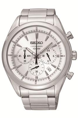 عکس نمای روبرو ساعت مچی برند سیکو مدل SSB085P1
