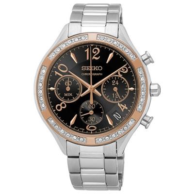 عکس نمای روبرو ساعت مچی برند سیکو مدل SSB890P1