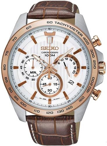 عکس نمای روبرو ساعت مچی برند سیکو مدل SSB306P1