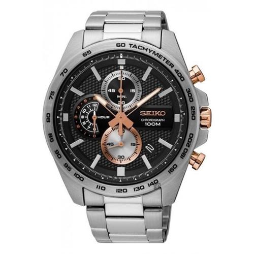 عکس نمای روبرو ساعت مچی برند سیکو مدل SSB281P1