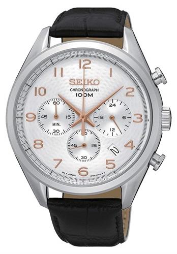 عکس نمای روبرو ساعت مچی برند سیکو مدل SSB227P1