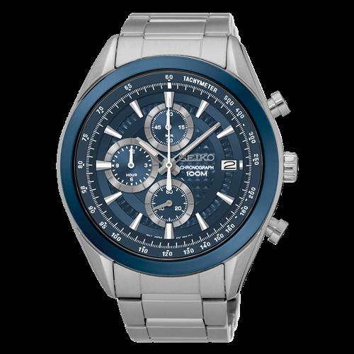 عکس نمای روبرو ساعت مچی برند سیکو مدل SSB177P1
