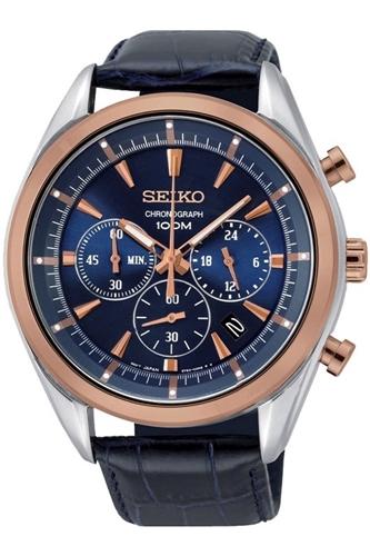 عکس نمای روبرو ساعت مچی برند سیکو مدل SSB160P1