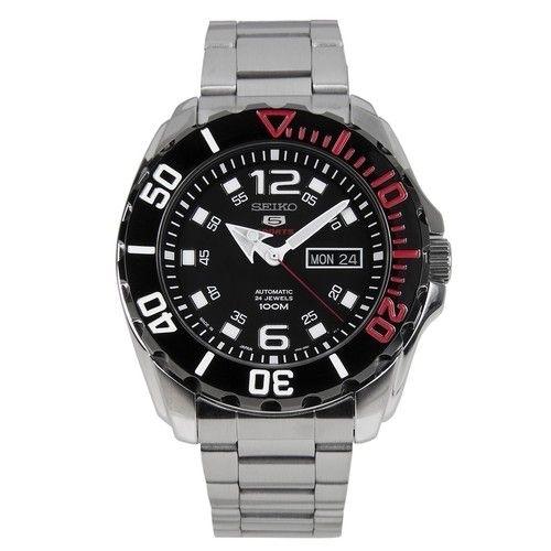 عکس نمای روبرو ساعت مچی برند سیکو مدل SRPB35J1