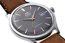عکس نمای نیم رخ ساعت مچی برند اورینت مدل FAC08003A0