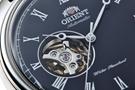 عکس نمای نیم رخ ساعت مچی برند اورینت مدل FAG00003B0