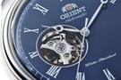 عکس نمای نیم رخ ساعت مچی برند اورینت مدل FAG00004D0