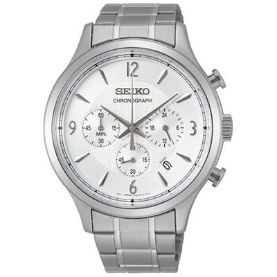 عکس نمای روبرو ساعت مچی برند سیکو مدل SSB337P1
