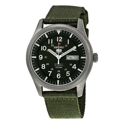 عکس نمای روبرو ساعت مچی برند سیکو مدل SNZG09K1