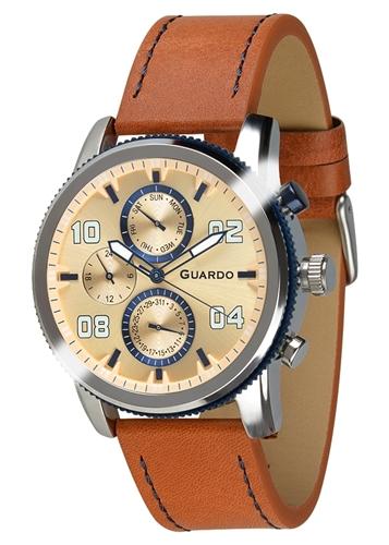 عکس نمای روبرو ساعت مچی برند گوآردو مدل 011097(1)-2