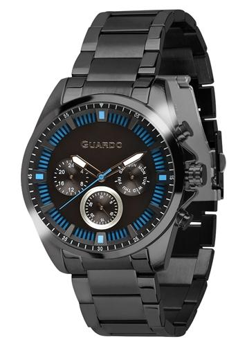 عکس نمای روبرو ساعت مچی برند گوآردو مدل 011123-5