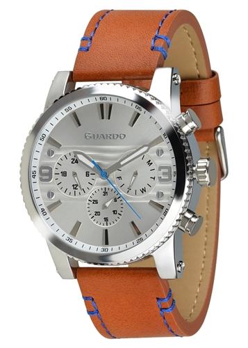 عکس نمای روبرو ساعت مچی برند گوآردو مدل 011401-1