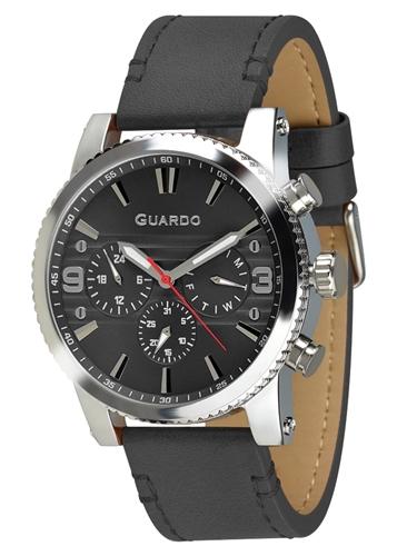 عکس نمای روبرو ساعت مچی برند گوآردو مدل 011401-3