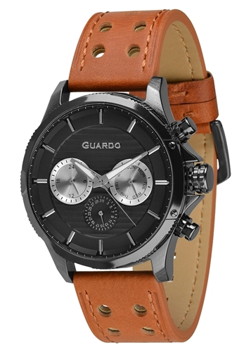 عکس نمای روبرو ساعت مچی برند گوآردو مدل 011456-5