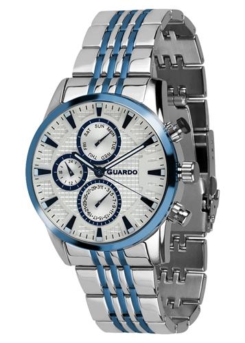 عکس نمای روبرو ساعت مچی برند گوآردو مدل 011653-2