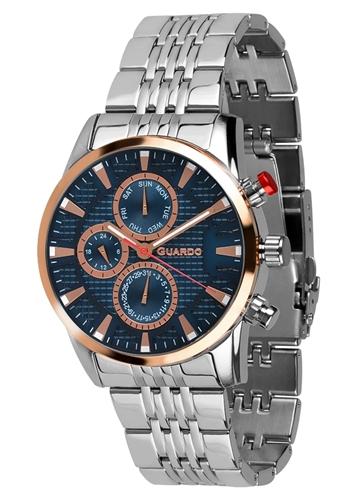 عکس نمای روبرو ساعت مچی برند گوآردو مدل 011653-3
