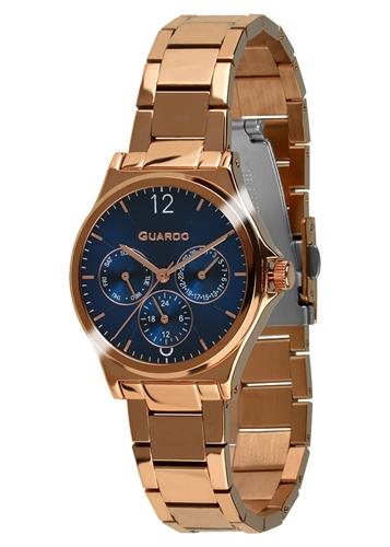 عکس نمای روبرو ساعت مچی برند گوآردو مدل 011755-6