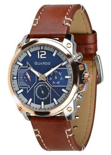 عکس نمای روبرو ساعت مچی برند گوآردو مدل 011998-2
