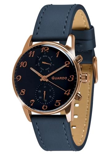 عکس نمای روبرو ساعت مچی برند گوآردو مدل 012009(3)-4