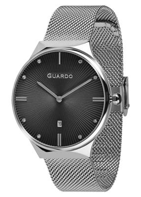 عکس نمای روبرو ساعت مچی برند گوآردو مدل 012473(1)-1