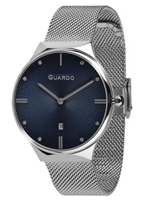 عکس نمای روبرو ساعت مچی برند گوآردو مدل 012473(1)-2