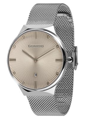 عکس نمای روبرو ساعت مچی برند گوآردو مدل 012473(1)-3