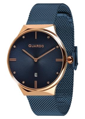 عکس نمای روبرو ساعت مچی برند گوآردو مدل 012473(1)-6