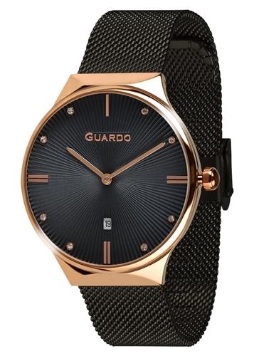 عکس نمای روبرو ساعت مچی برند گوآردو مدل 012473(1)-7