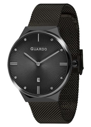 عکس نمای روبرو ساعت مچی برند گوآردو مدل 012473(1)-8