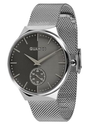 عکس نمای روبرو ساعت مچی برند گوآردو مدل 012473(2)-1