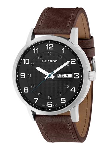 عکس نمای روبرو ساعت مچی برند گوآردو مدل 10656-1