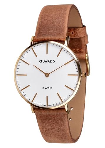 عکس نمای روبرو ساعت مچی برند گوآردو مدل 11014-4