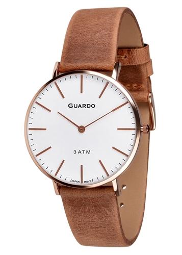 عکس نمای روبرو ساعت مچی برند گوآردو مدل 11014-6
